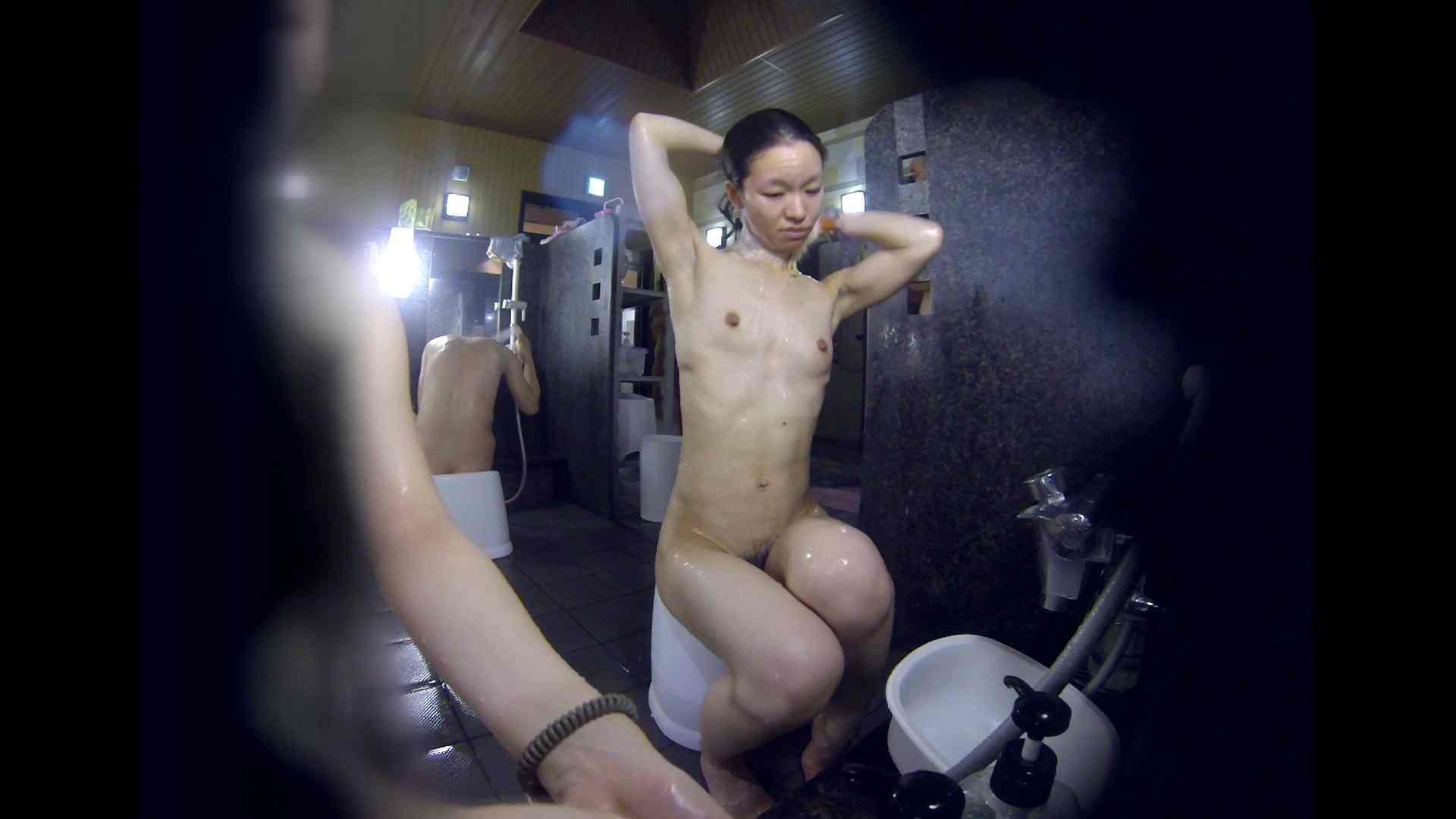洗い場!可愛い?ブサイク?確かなのは貧乳であること 銭湯着替え AV無料動画キャプチャ 61画像 29