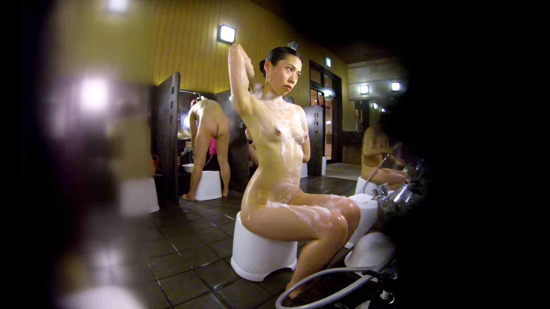 洗い場!ハッキリとした顔立ちとハッキリとした高低差の乳輪 ギャル攻め オマンコ動画キャプチャ 75画像 18