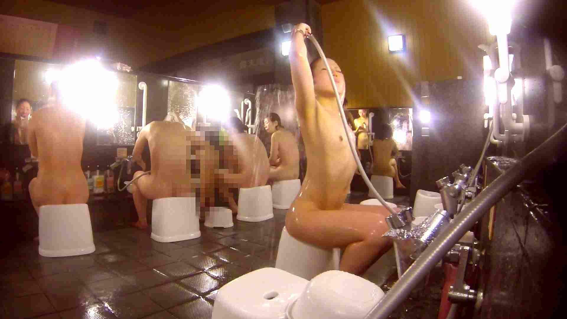 洗い場!貧乳ケバギャル発見! 細身女性 オメコ無修正動画無料 54画像 3