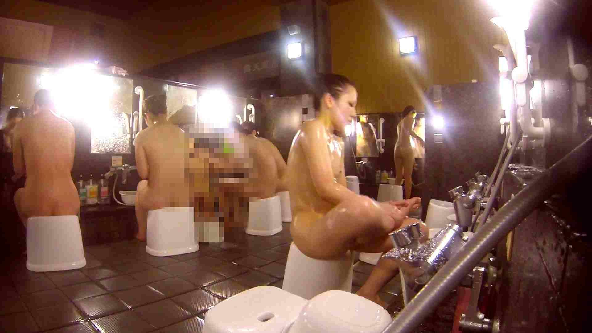 洗い場!貧乳ケバギャル発見! 銭湯着替え  54画像 6