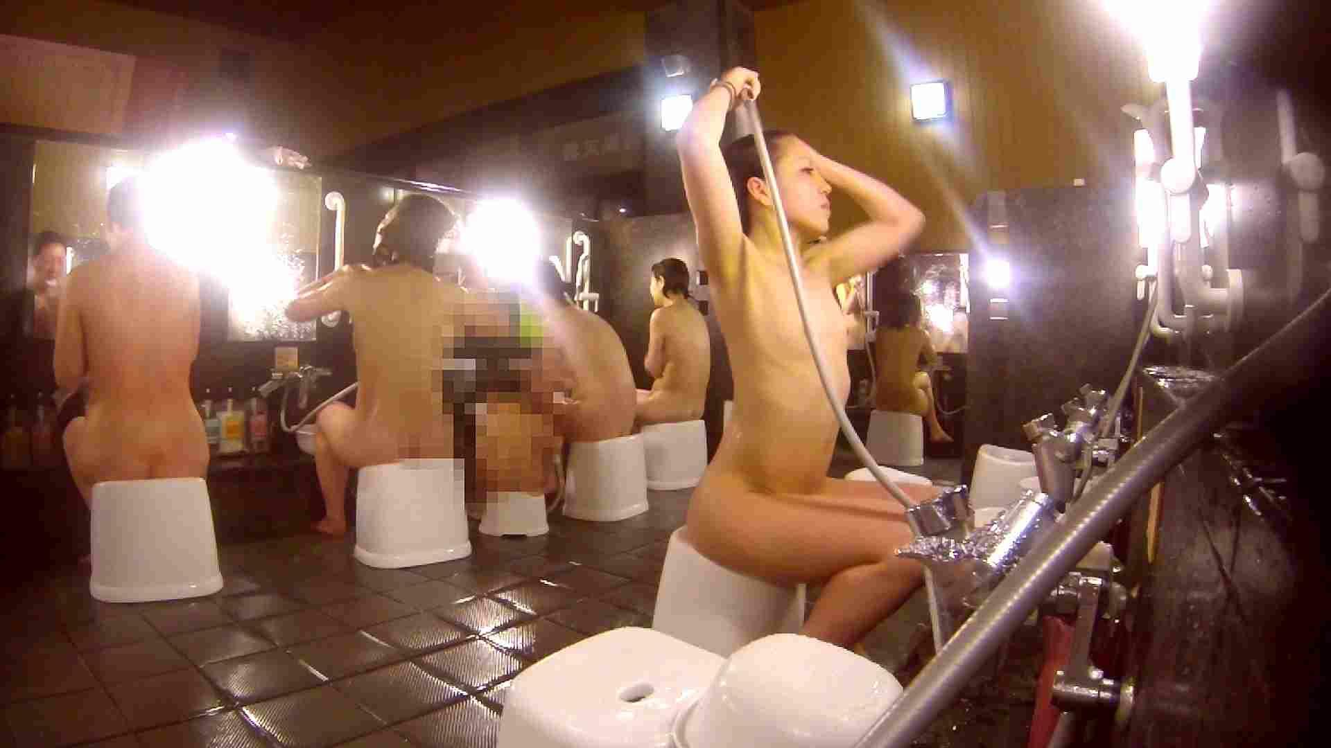 洗い場!貧乳ケバギャル発見! 細身女性 オメコ無修正動画無料 54画像 21