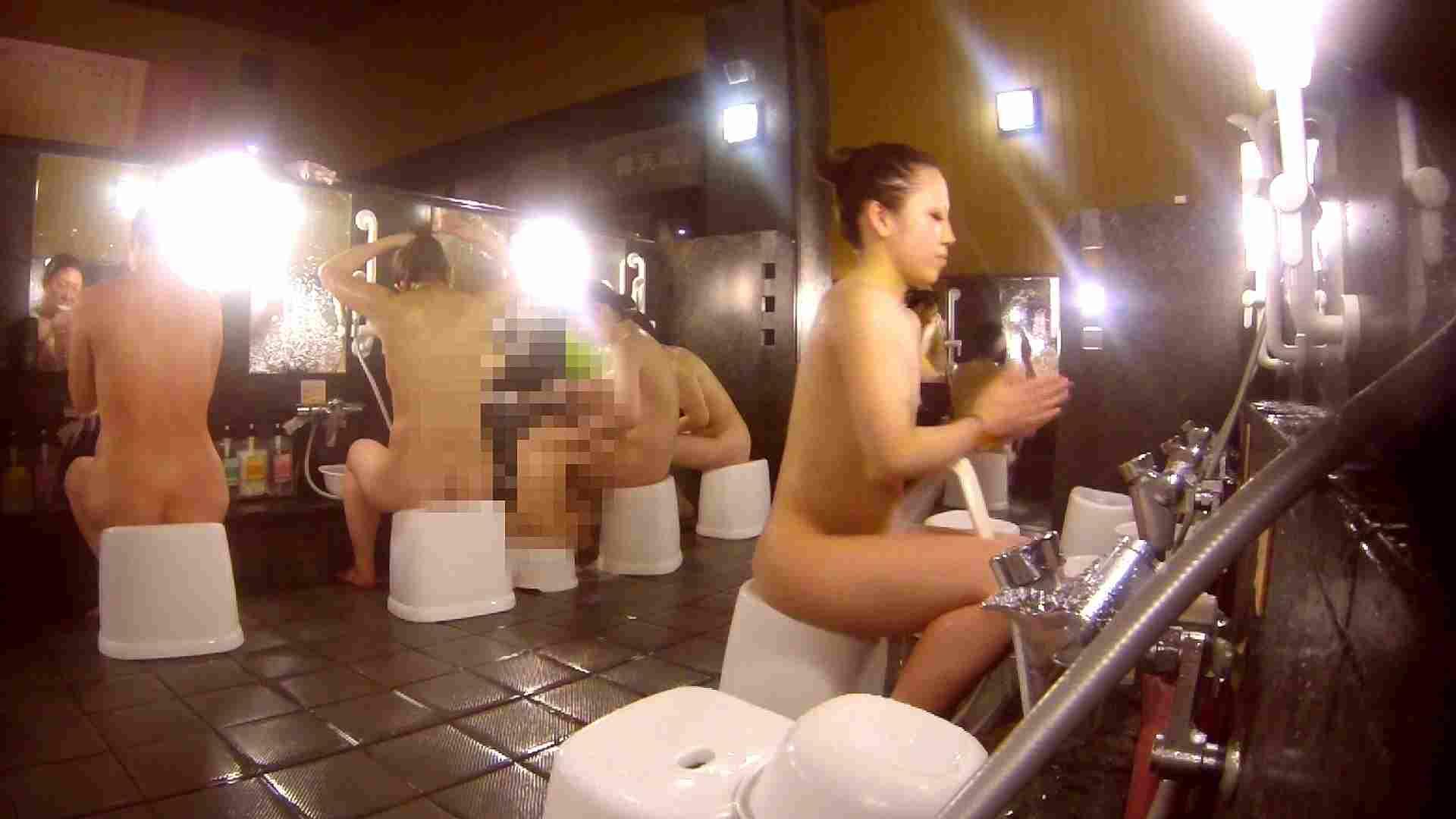 洗い場!貧乳ケバギャル発見! 潜入 オマンコ動画キャプチャ 54画像 40