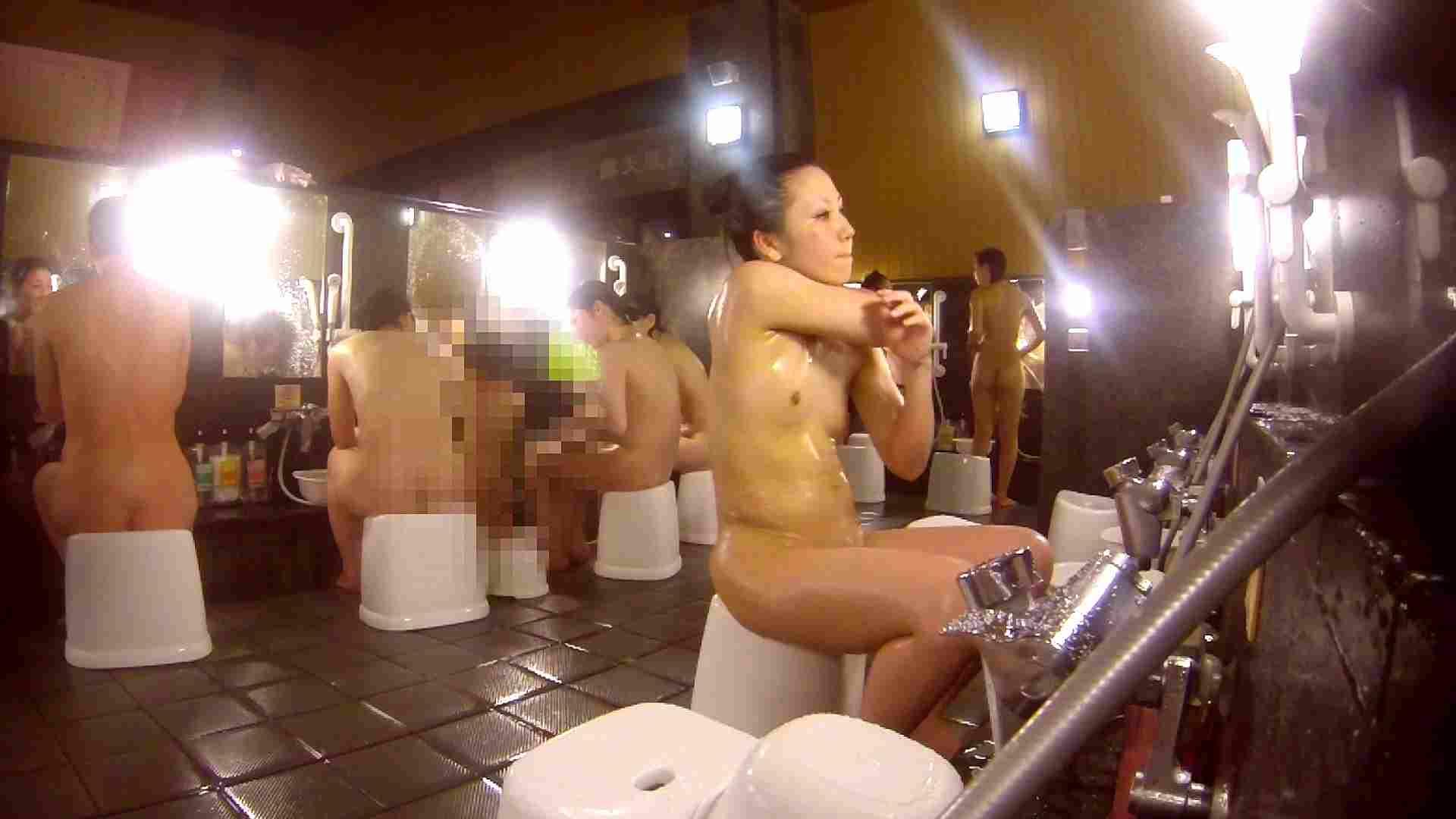 洗い場!貧乳ケバギャル発見! 女湯 エロ無料画像 54画像 47