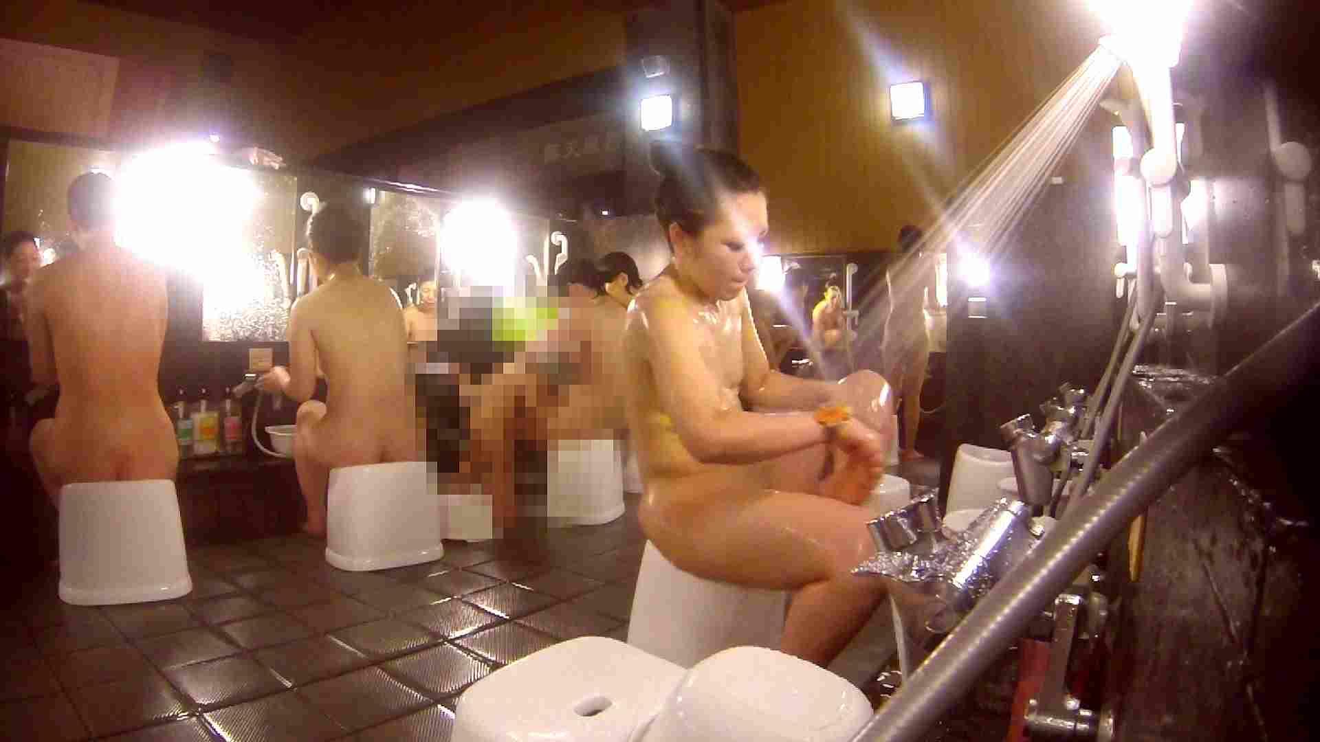 洗い場!貧乳ケバギャル発見! 女湯 エロ無料画像 54画像 53