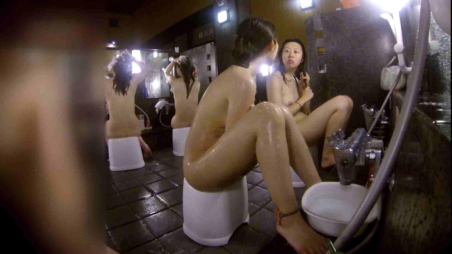 洗い場!地味目の女の子2人組。ずっと話しながら洗ってます。 友人・知人 おまんこ動画流出 52画像 15