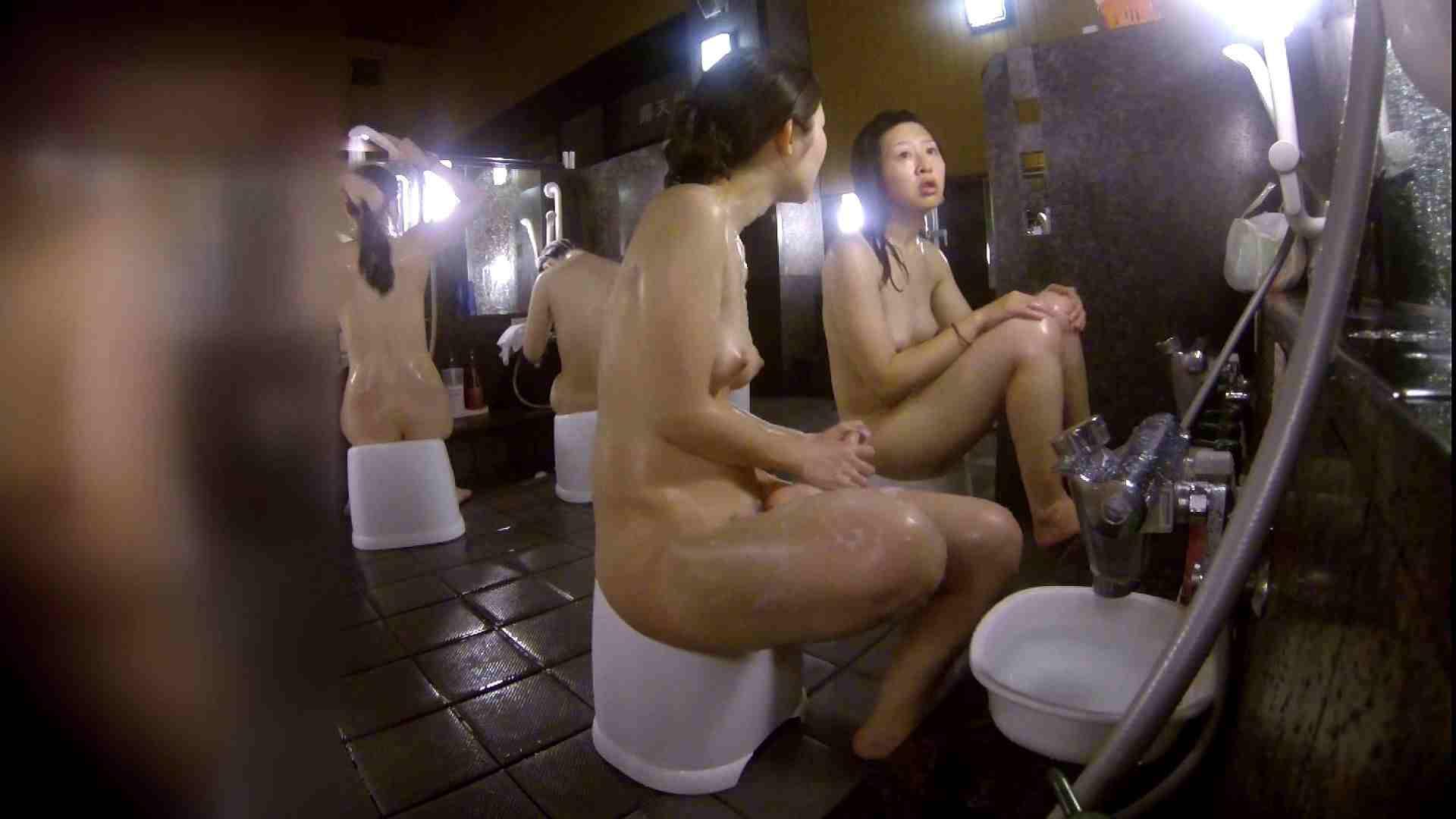 洗い場!地味目の女の子2人組。ずっと話しながら洗ってます。 女湯 AV無料 52画像 22