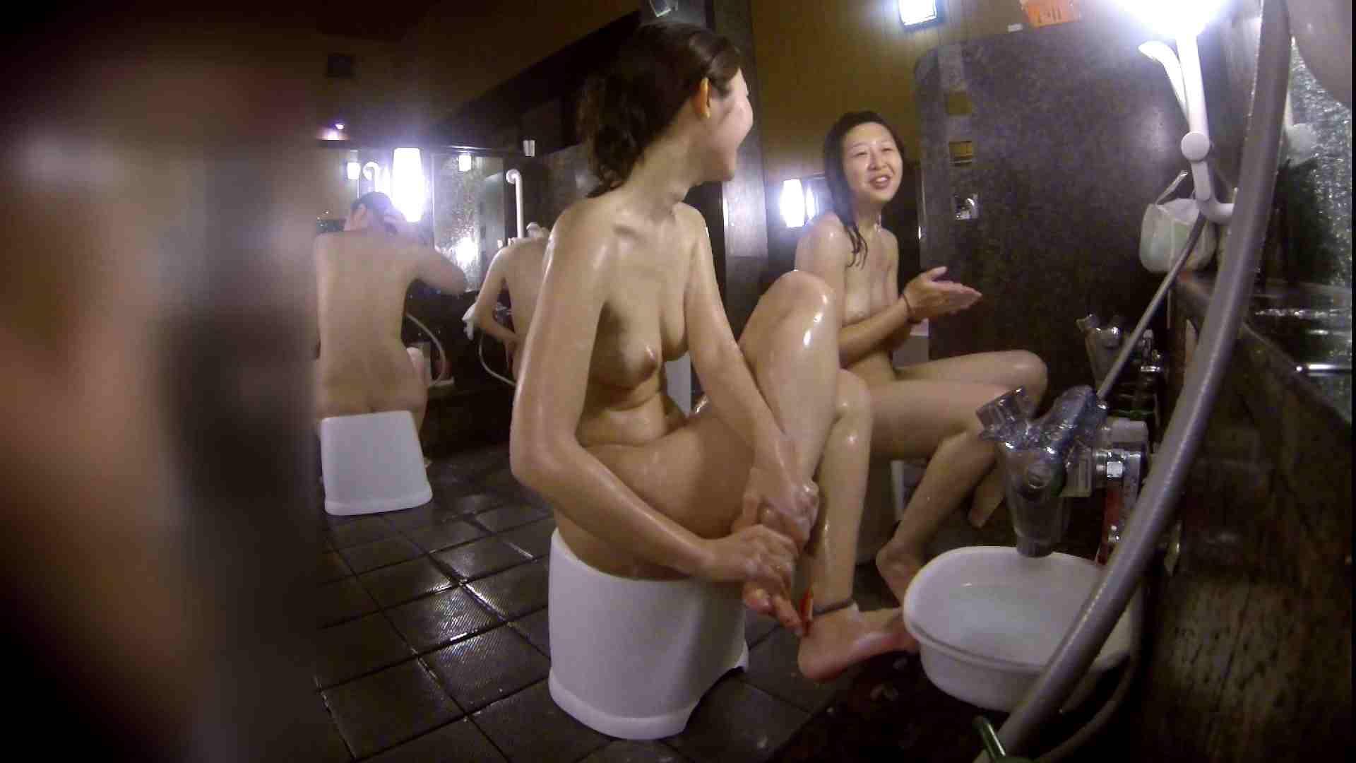 洗い場!地味目の女の子2人組。ずっと話しながら洗ってます。 潜入 おまんこ動画流出 52画像 28
