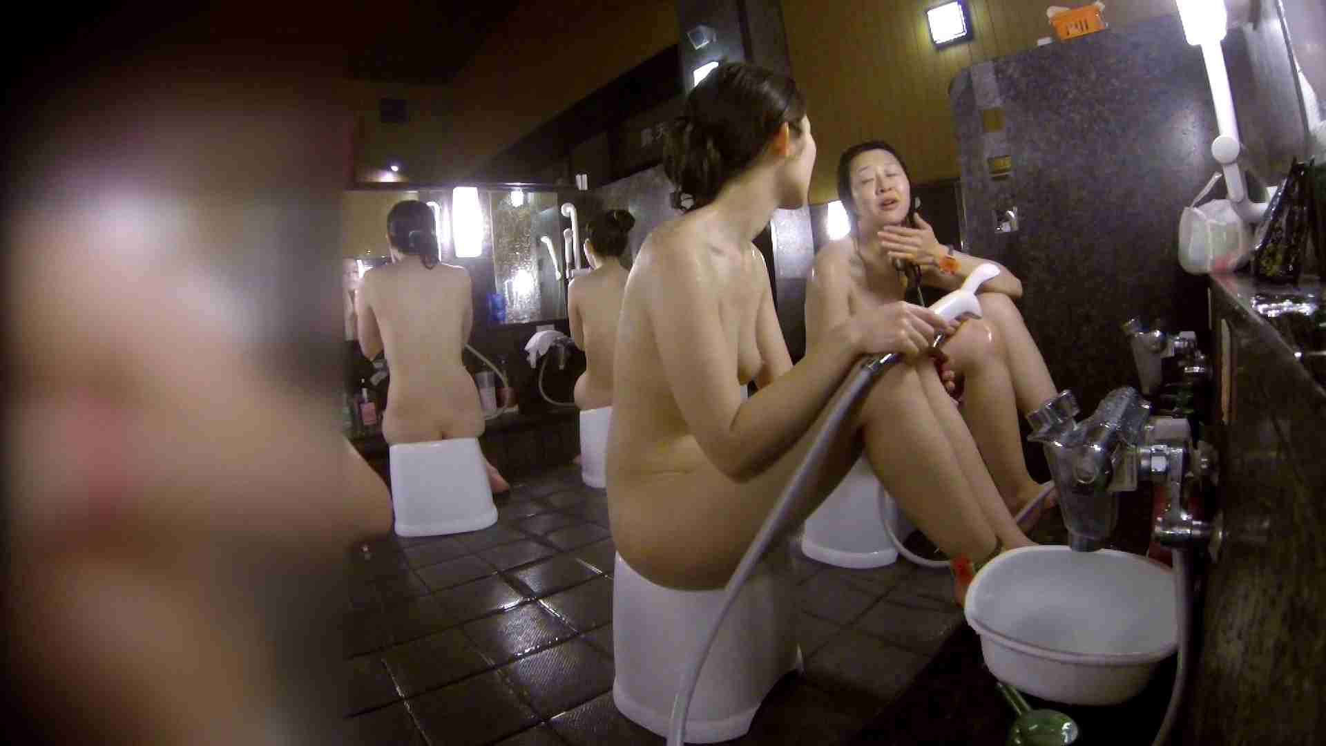 洗い場!地味目の女の子2人組。ずっと話しながら洗ってます。 女湯 AV無料 52画像 38