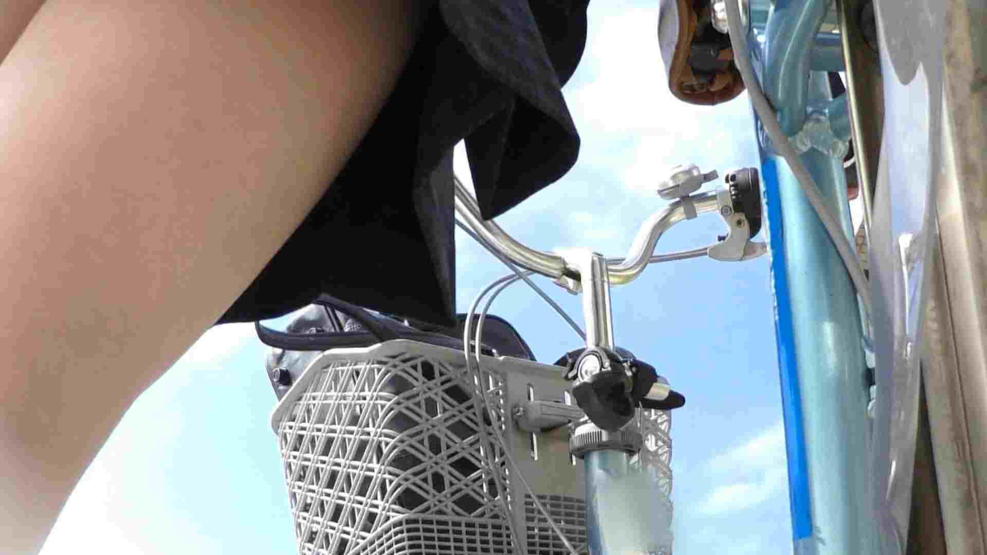 自転車パンチラ Vol.04 高画質 AV無料 55画像 3