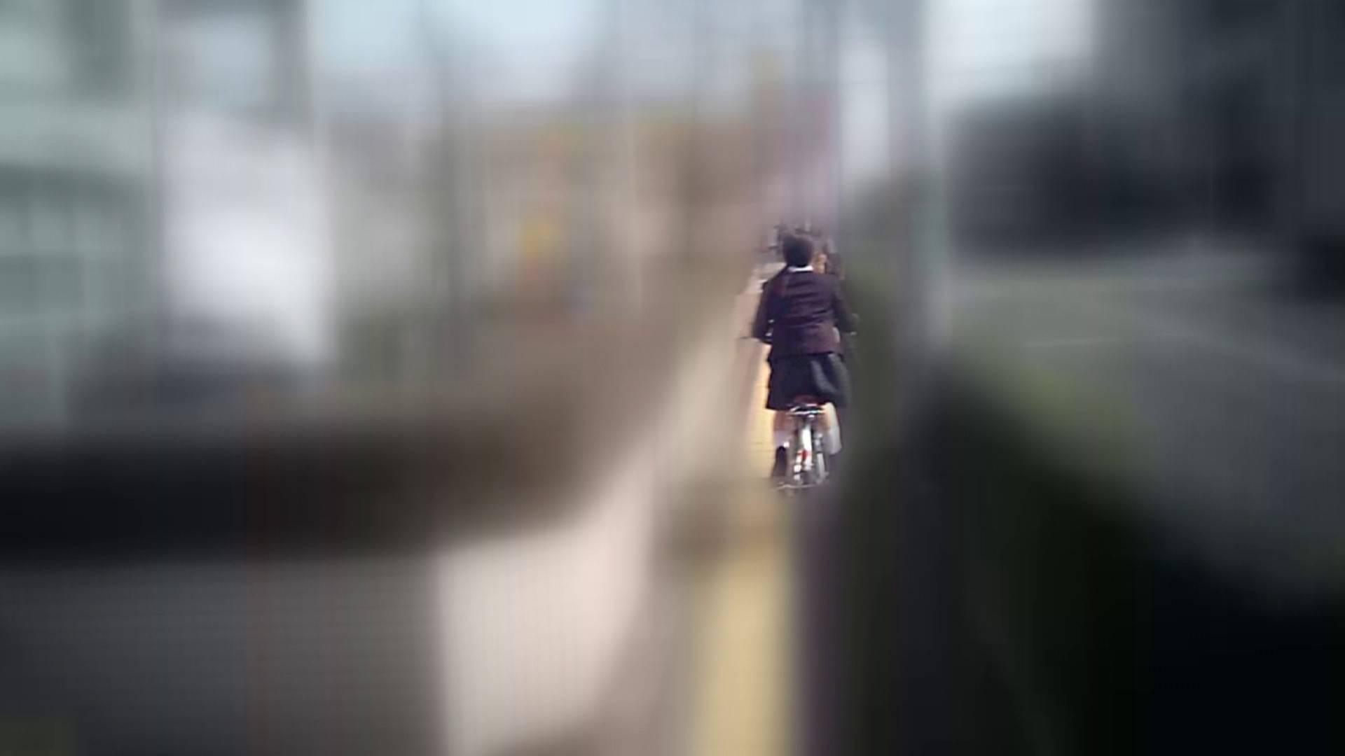 自転車パンチラ Vol.04 丸見え  55画像 16