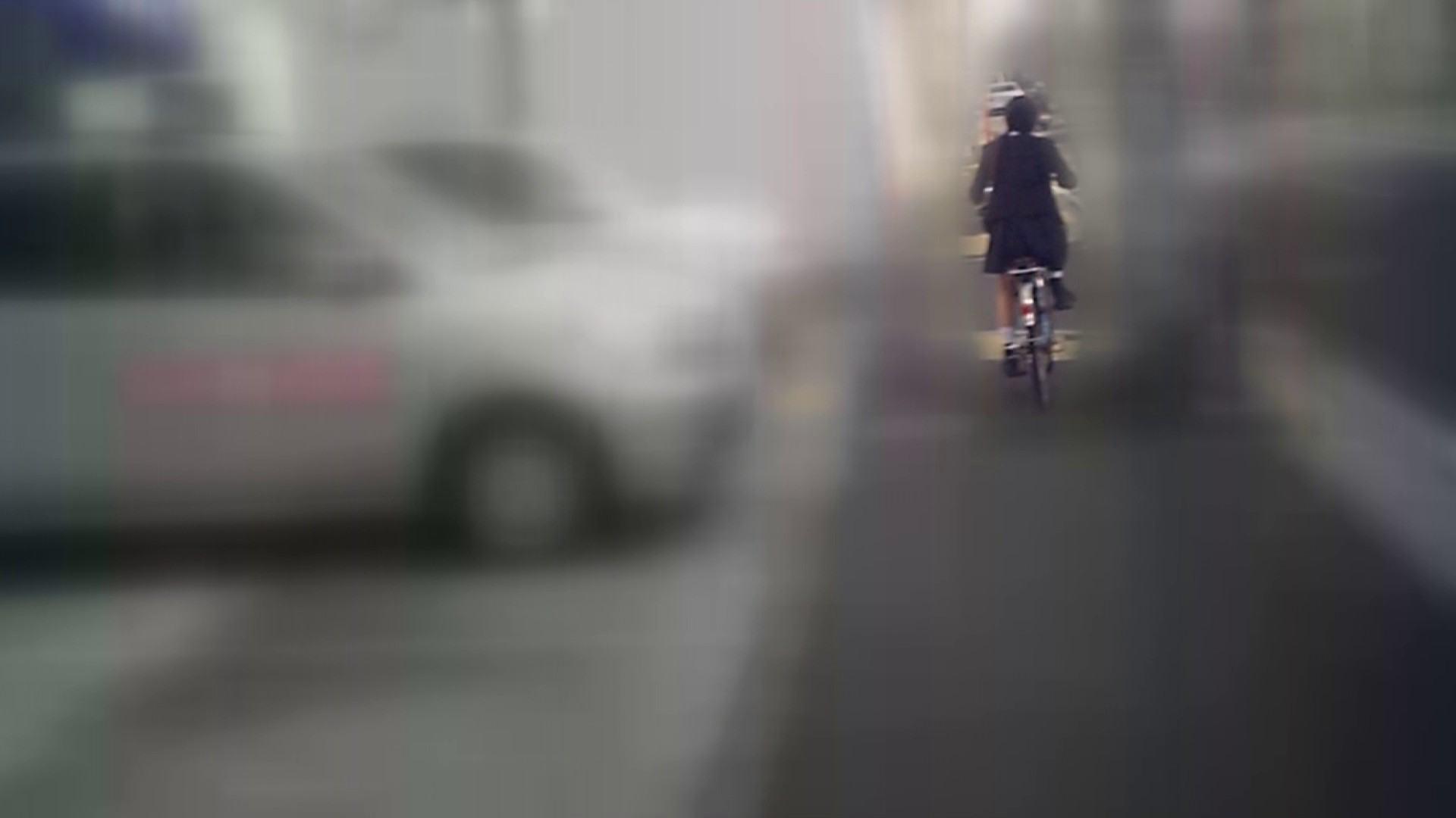 自転車パンチラ Vol.04 丸見え  55画像 32