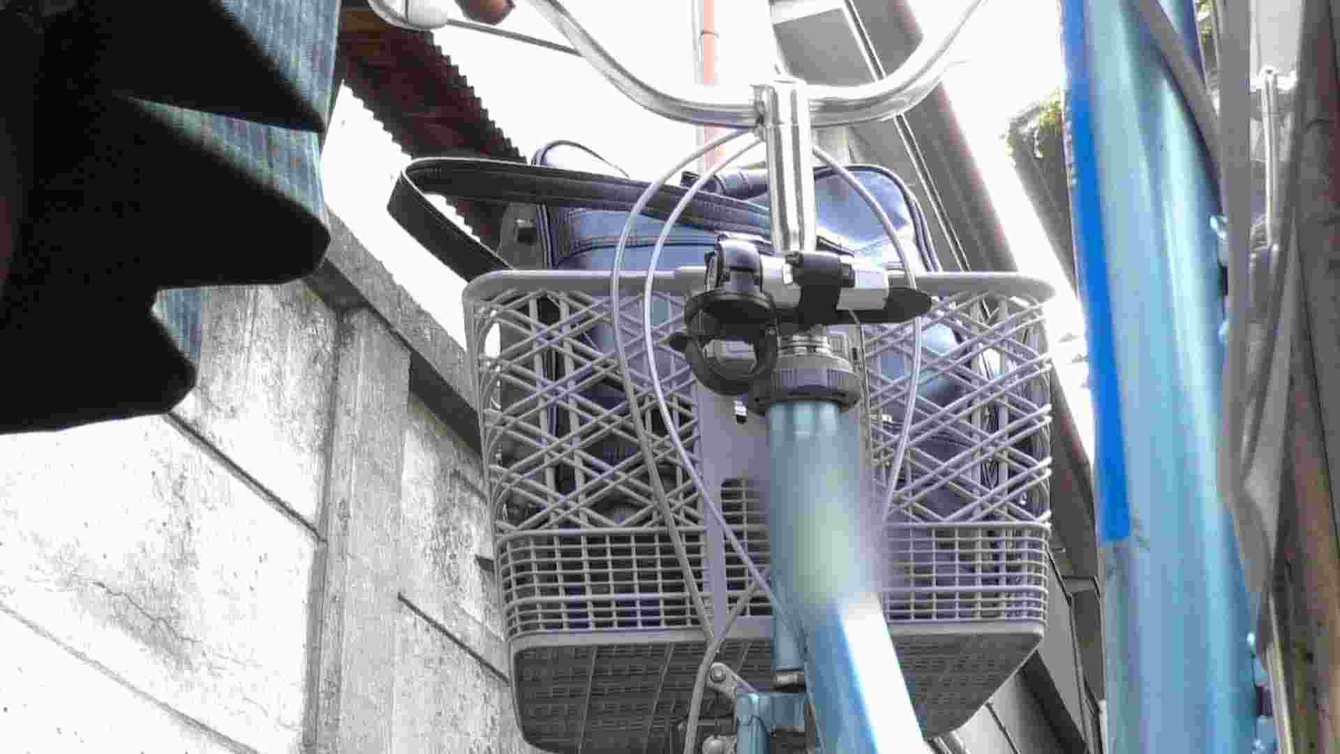 自転車パンチラ Vol.04 チラ ヌード画像 55画像 53