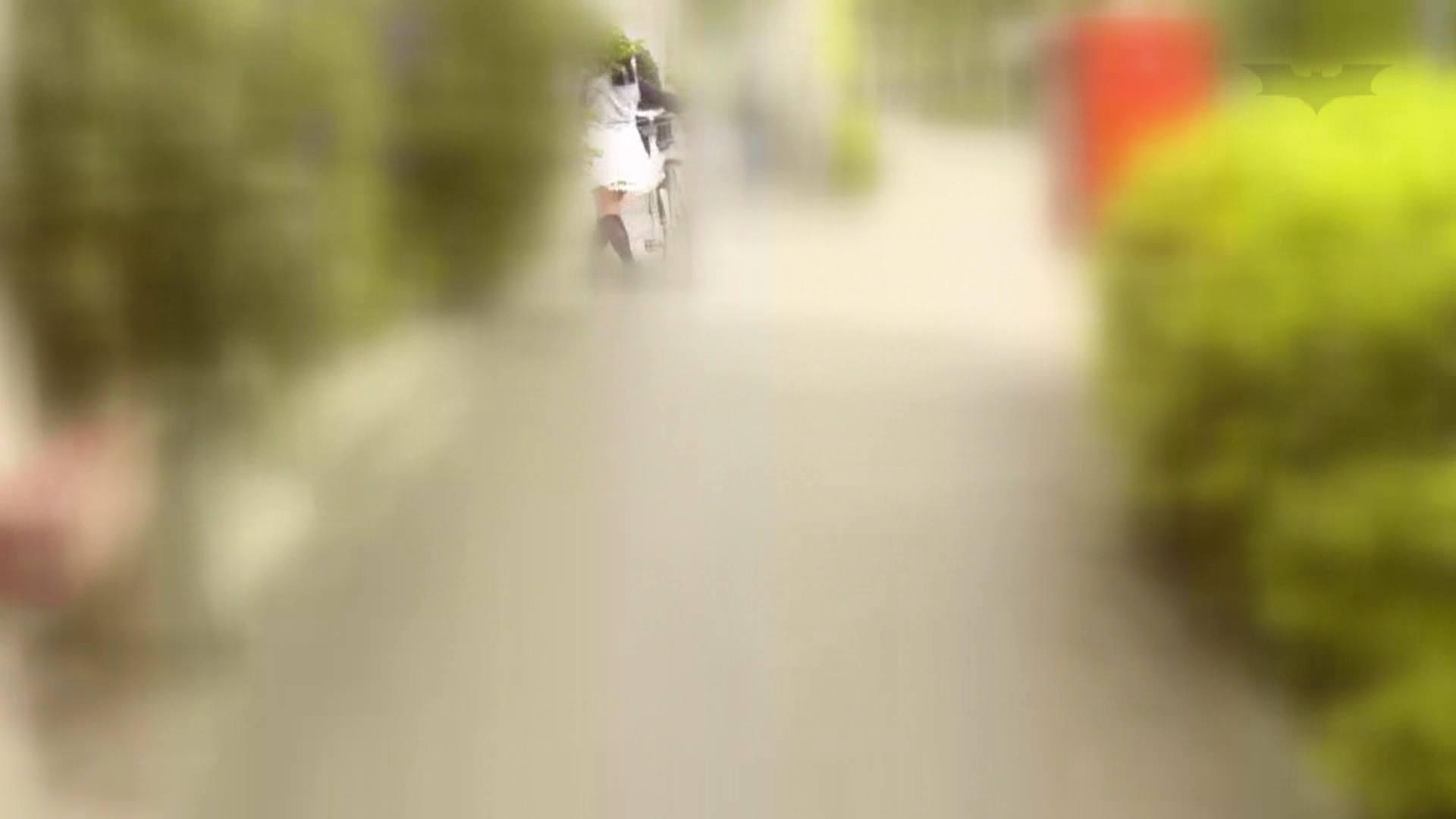 自転車パンチラ Vol.06 むっちり | 車  65画像 1