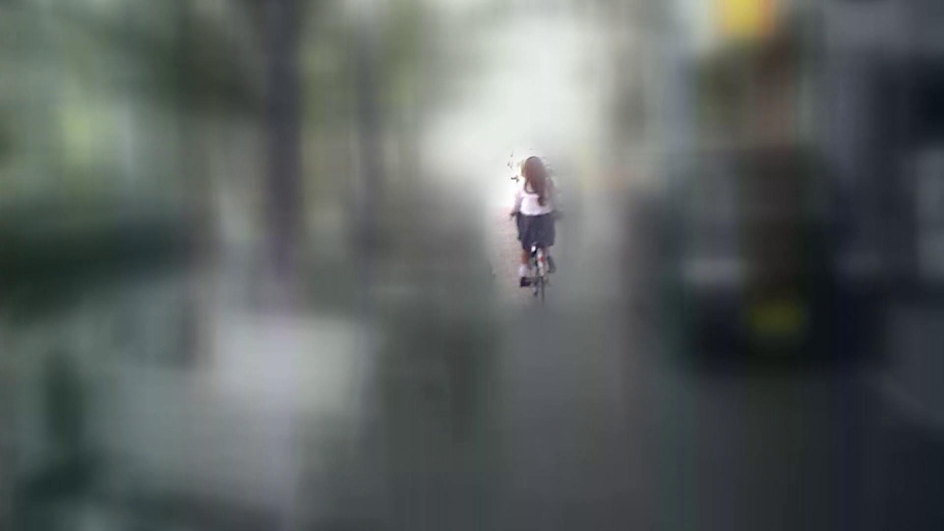 自転車パンチラ Vol.07 チラ おまんこ動画流出 90画像 20
