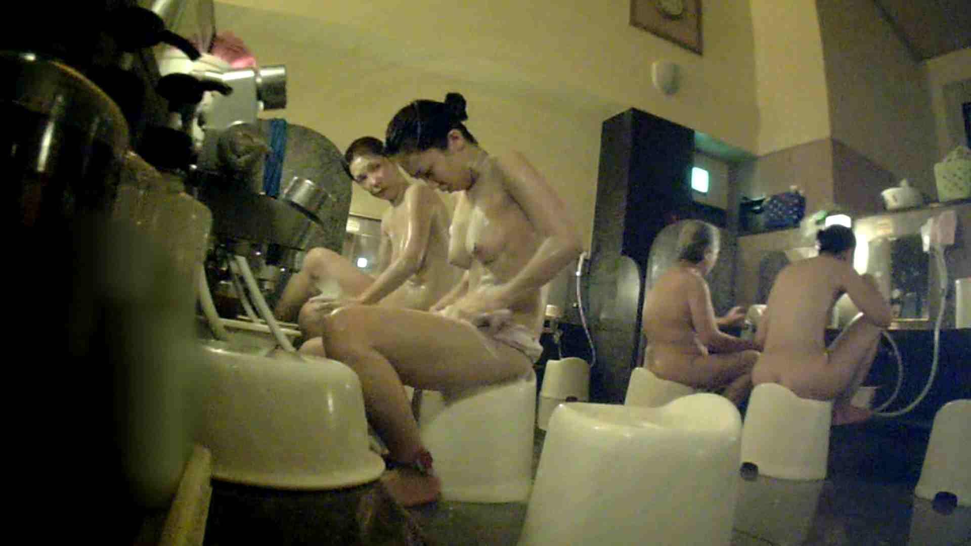 [画質UP]TG.17 【二等兵】ちょっと遠い…オデコの広い優しいお女市さん 女風呂 | 美乳  89画像 36