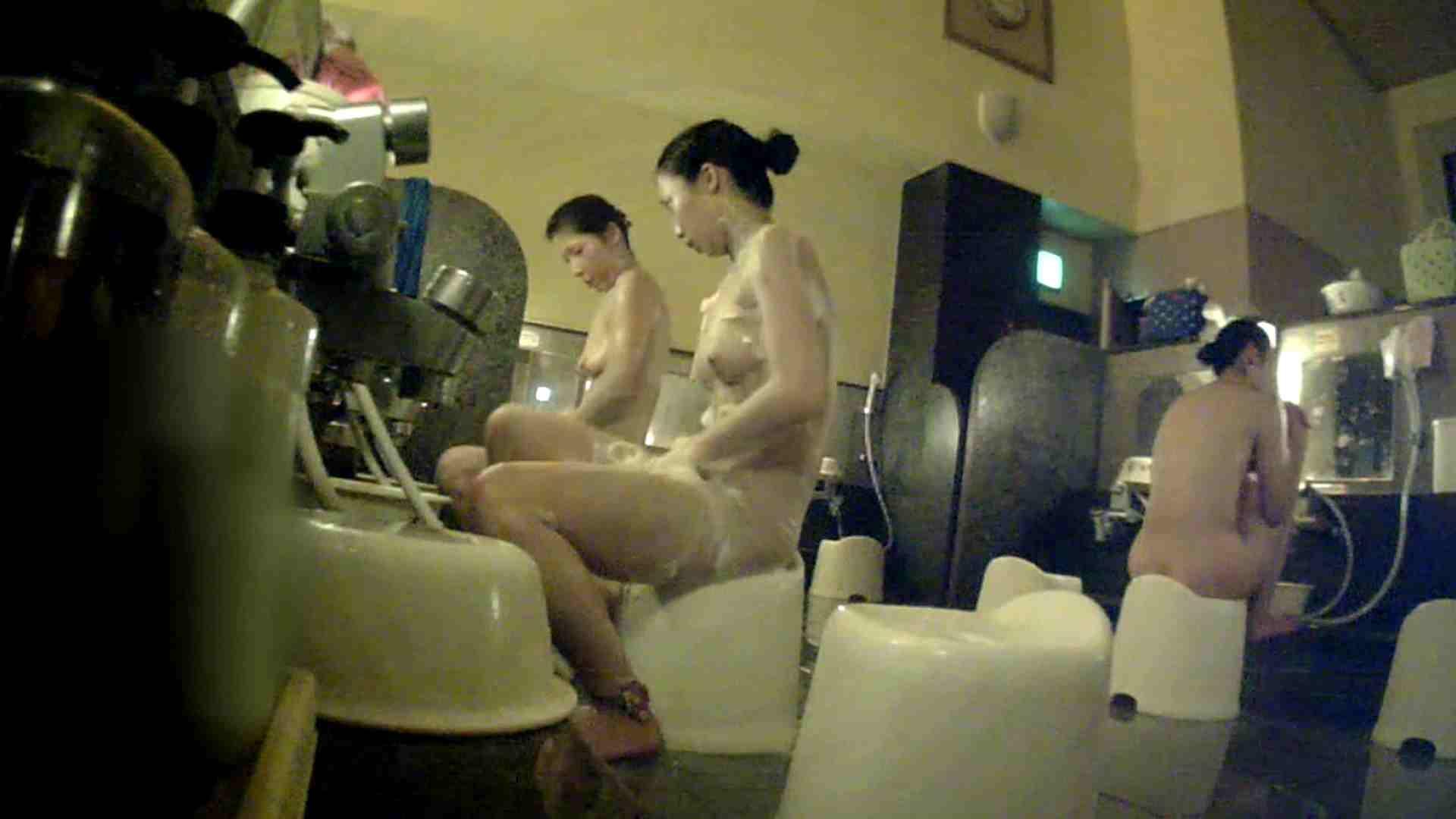 [画質UP]TG.17 【二等兵】ちょっと遠い…オデコの広い優しいお女市さん 女風呂 | 美乳  89画像 41