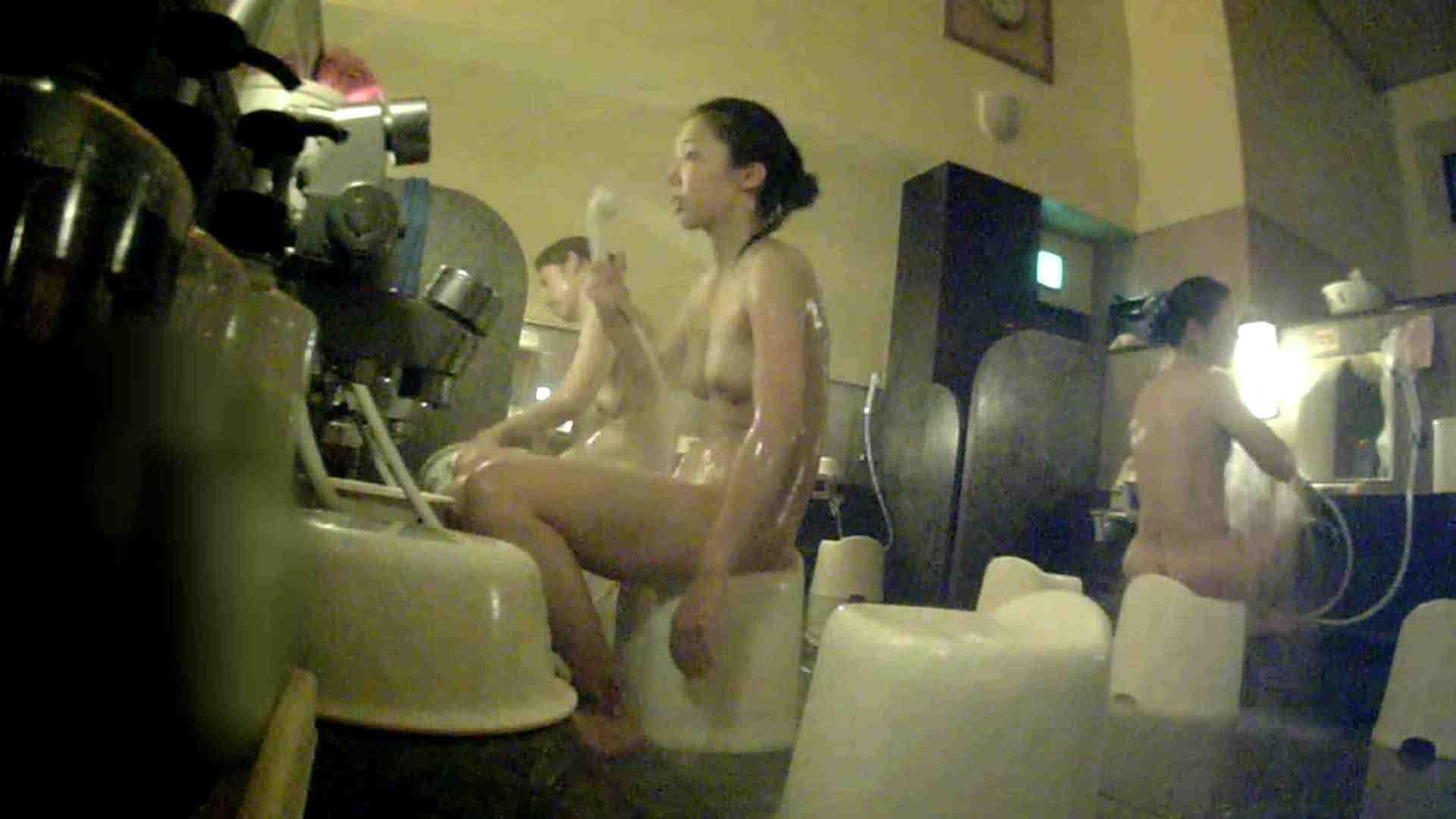 [画質UP]TG.17 【二等兵】ちょっと遠い…オデコの広い優しいお女市さん 女風呂 | 美乳  89画像 56