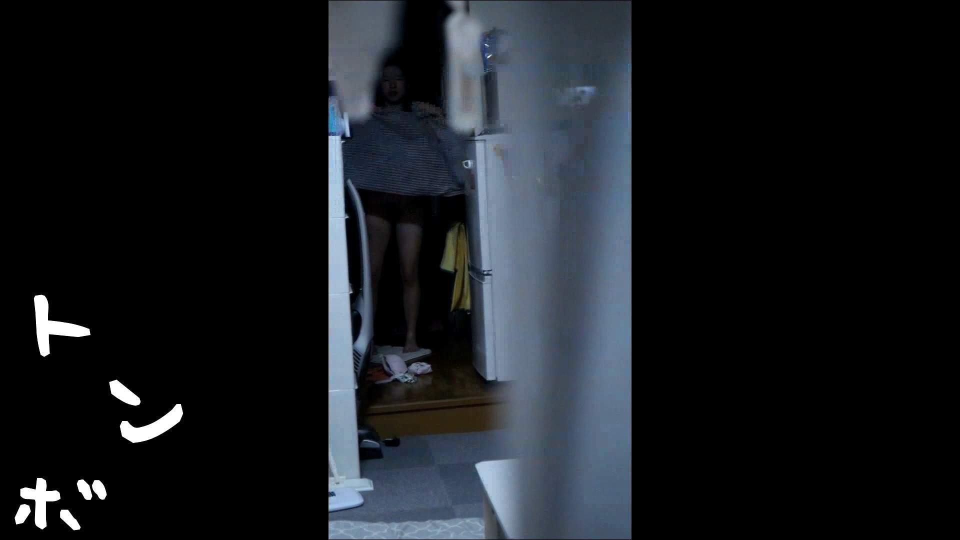 リアル盗撮 ピアスが可愛い一人暮らし女子大生の部屋ヌード 盗撮で悶絶 ワレメ動画紹介 55画像 7