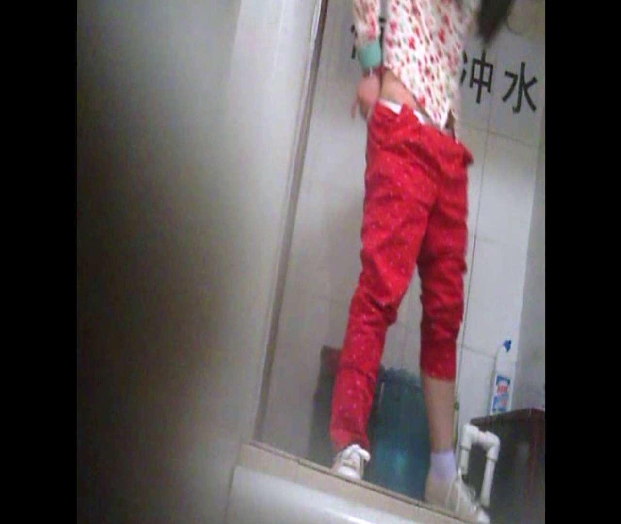 Vol.01 赤のパンツスタイルがとっても眩しい!! 洗面所 | 丸見え  61画像 58