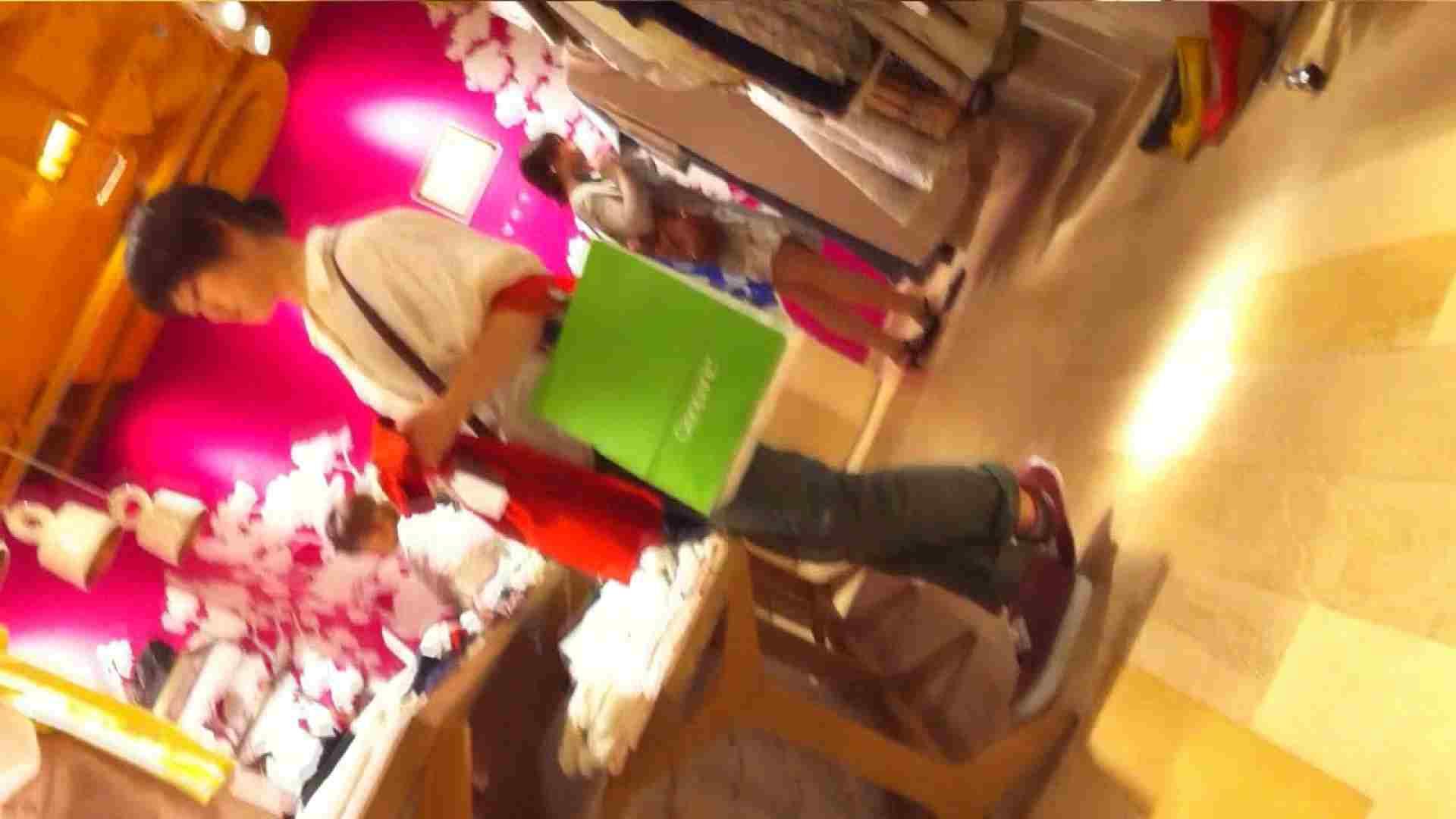オマンコ丸見え:可愛いカリスマ店員限定‼胸チラ&パンチラ vol.11:のぞき本舗 中村屋