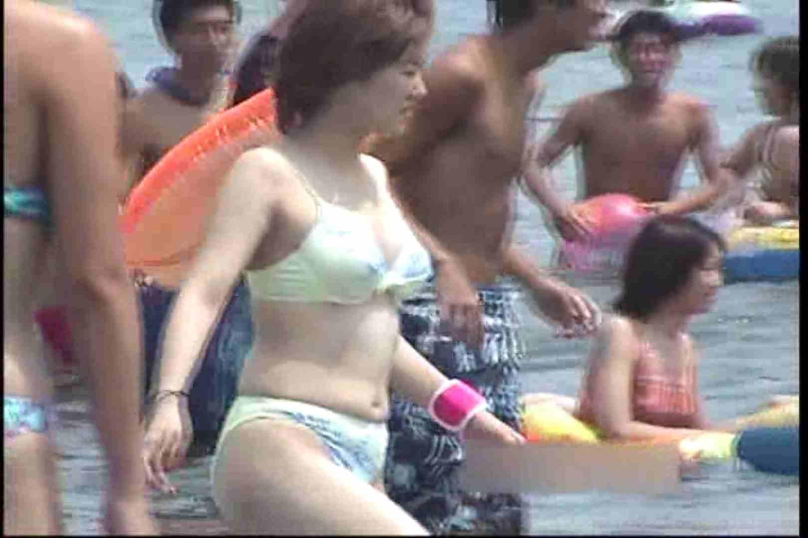 オマンコ丸見え:美少女を探せ!!真夏のビキニハーレムVol.25:ピープフォックス(盗撮狐)