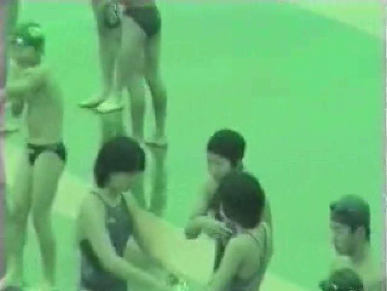 オマンコ丸見え:スケスケ競泳水着(ライティング)Vol.1:ピープフォックス(盗撮狐)