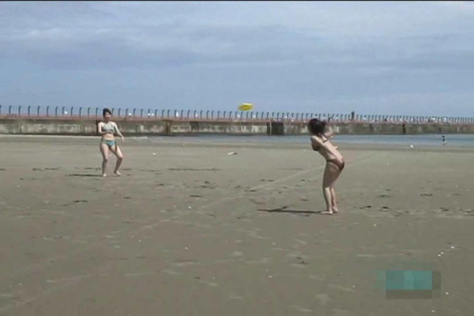 オマンコ丸見え:真夏のビーチは危険地帯Vol.4:ピープフォックス(盗撮狐)
