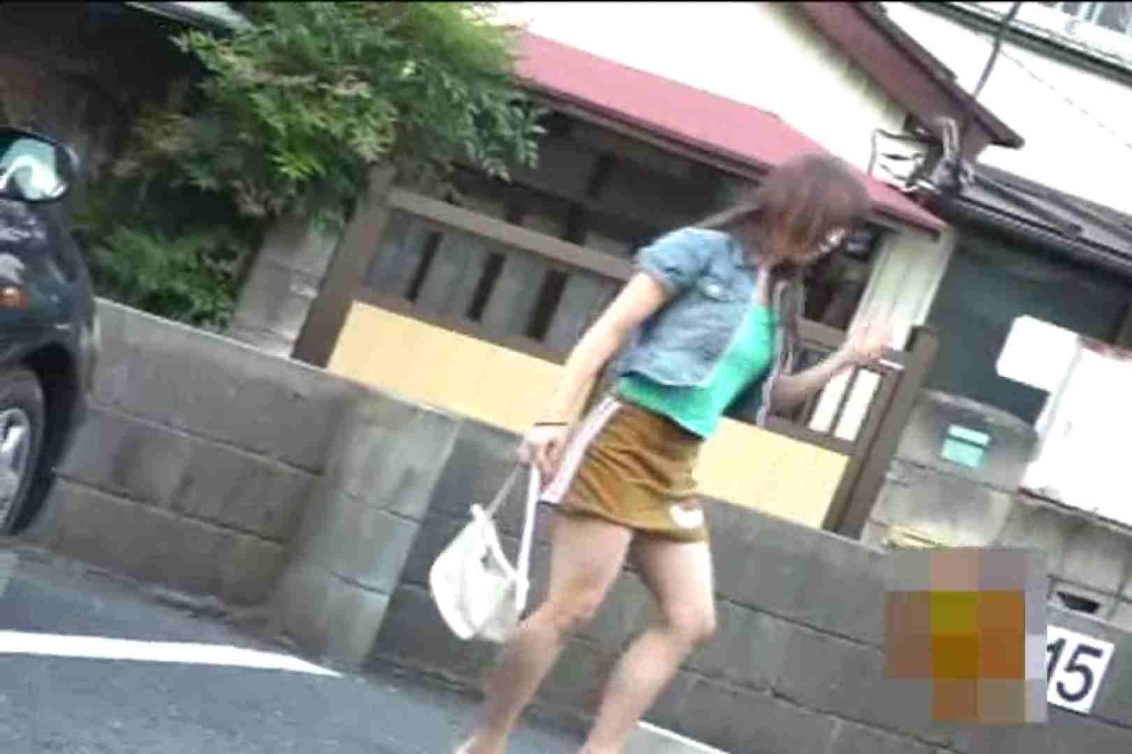オマンコ丸見え:検証!隠し撮りスカートめくり!!Vol.3:ピープフォックス(盗撮狐)